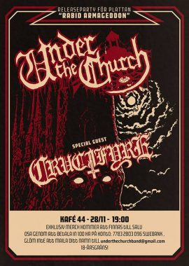 under the church flyer