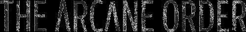The Arcane Order Logo