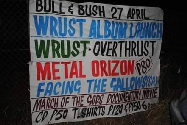 Metal Orizon Werbung