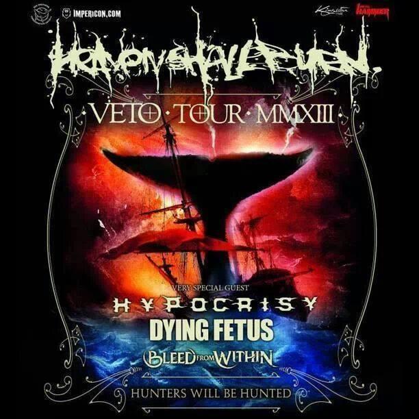veto tour poster
