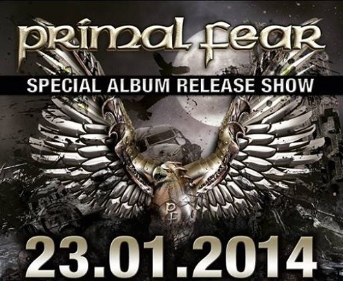 Konzertflyer Primal Fear
