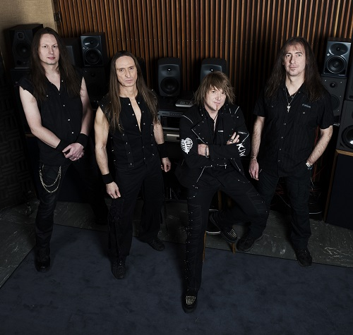 "Gamma Ray Photoshoot for ""Empire Of The Undead"""