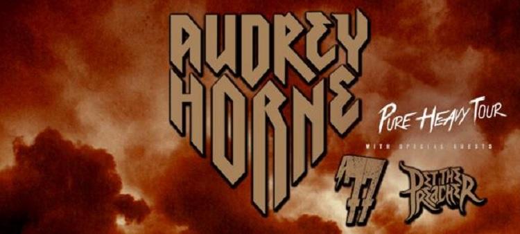 Tourflyer Audrey Horne