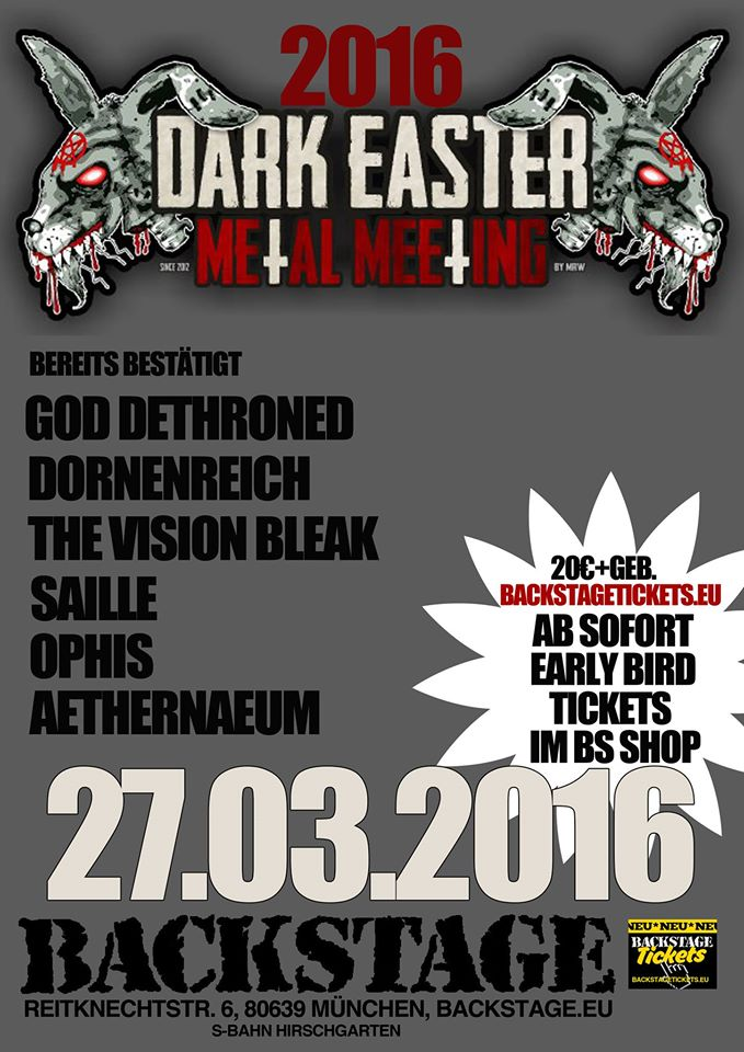 Dark Easter Metal Meeting 2016