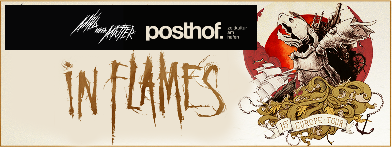 In Flames Tour 2015