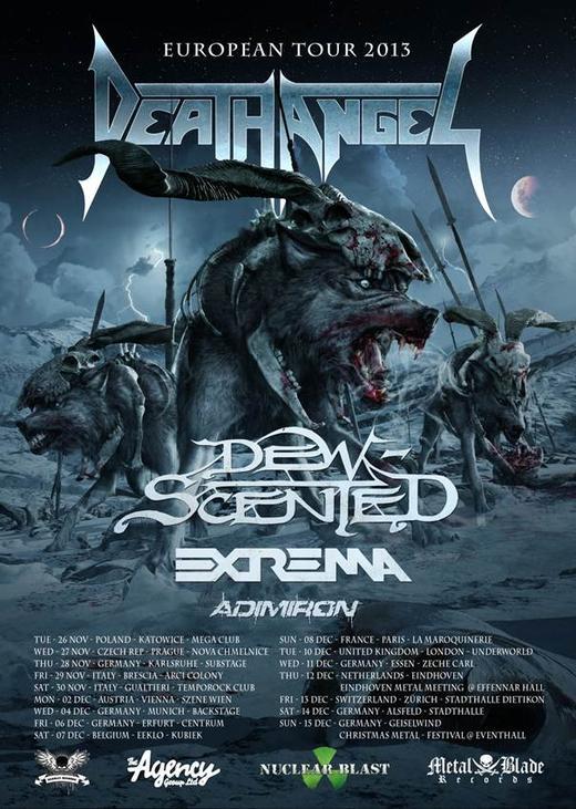 death angel tour 2013
