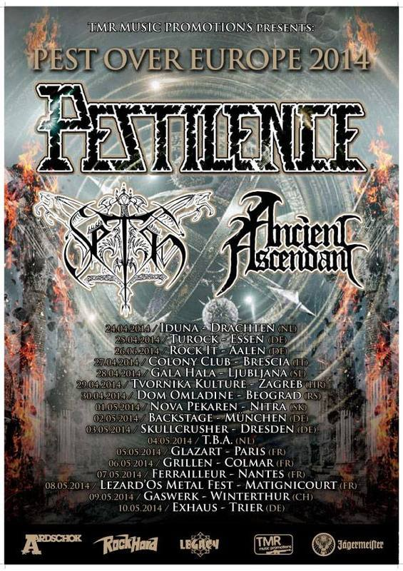 Pestilence Tour