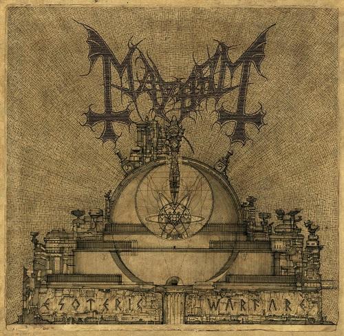 Mayhem - Esoteric Warfare - Cover