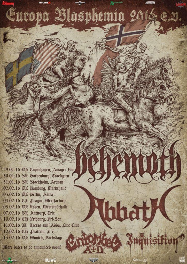 Tour Behemoth