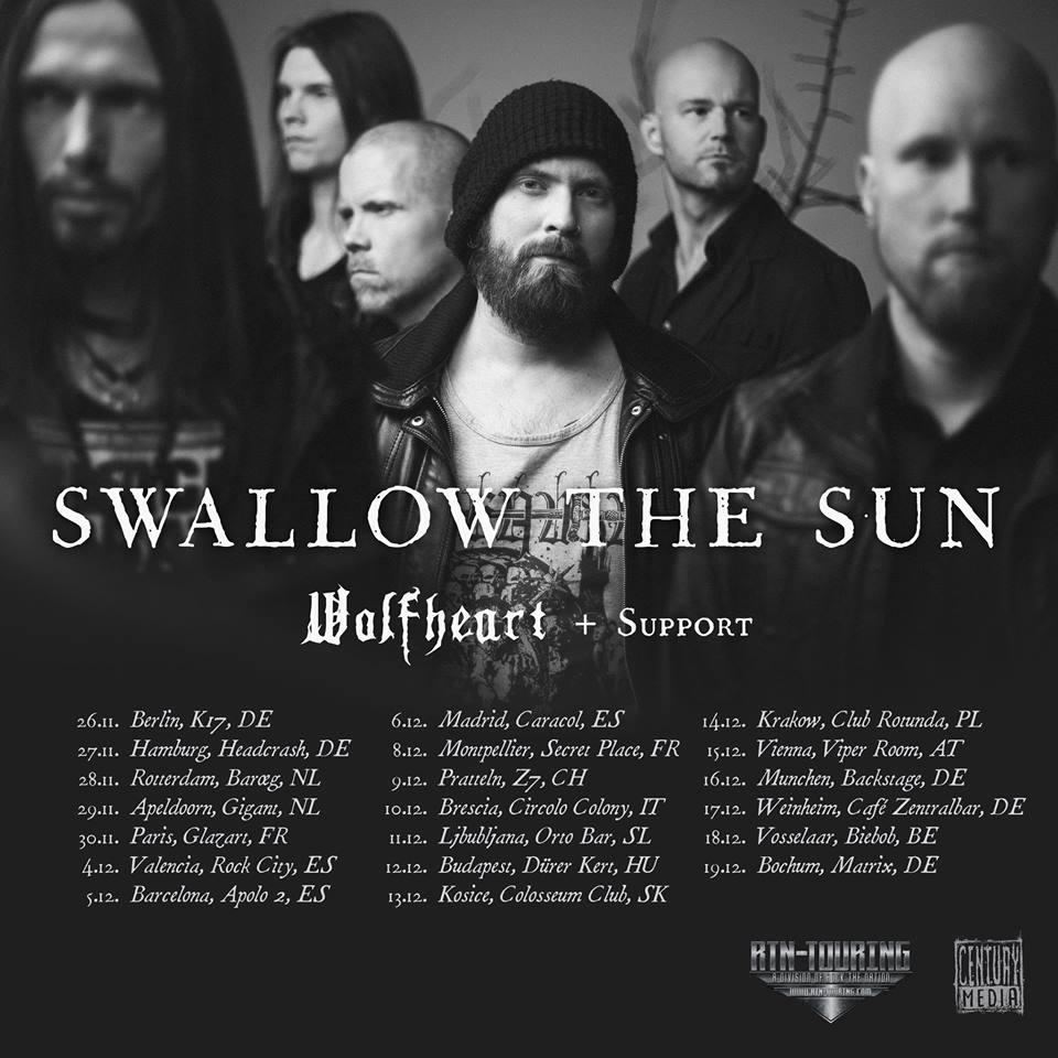 wolfheart tour 2015
