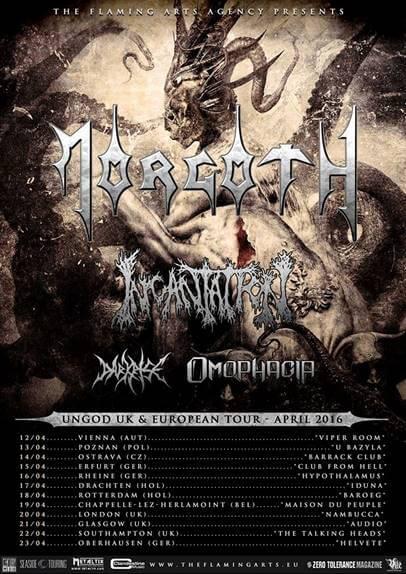 morgoth incantation tour 2016
