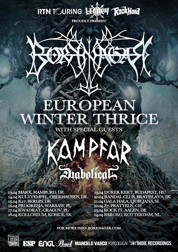 Borknagar Tour