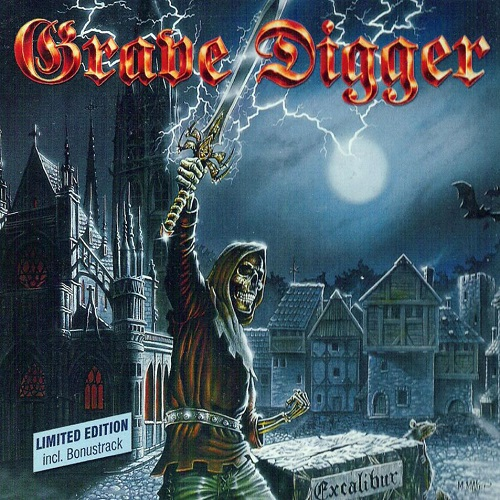 Grave Digger - Excalibur - Cover