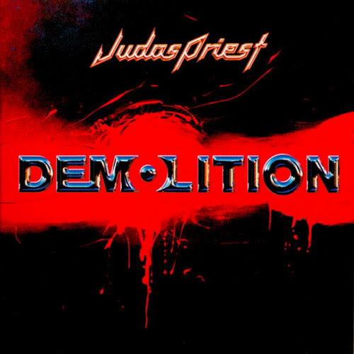 Judas Priest - Demolition - Cover