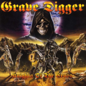 Grave Digger - Knights Of The Cross - CD-Cover