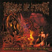 Cradle Of Filth - Lovecraft & Witch Hearts - CD-Cover