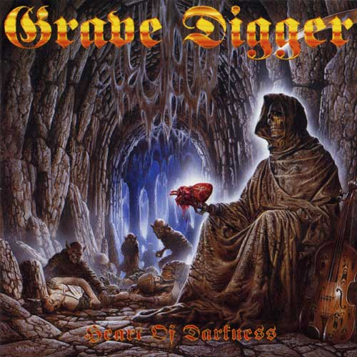 Grave Digger - Heart Of Darkness - Cover