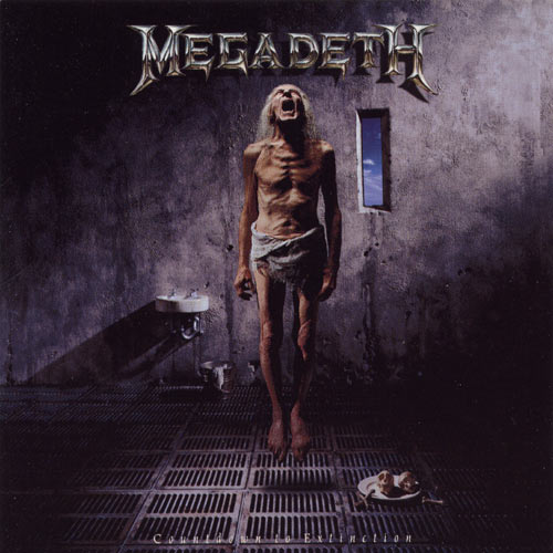 Megadeth - Countdown To Extinction - Cover