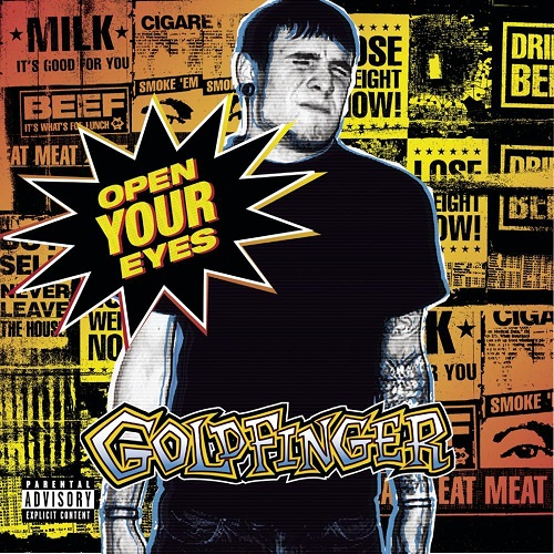Goldfinger - Open Your Eyes - Cover