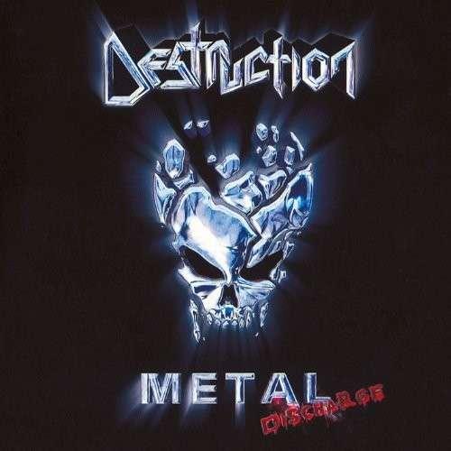 Destruction - Metal Discharge - Cover