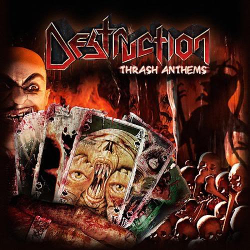 Destruction - Thrash Anthems - Cover
