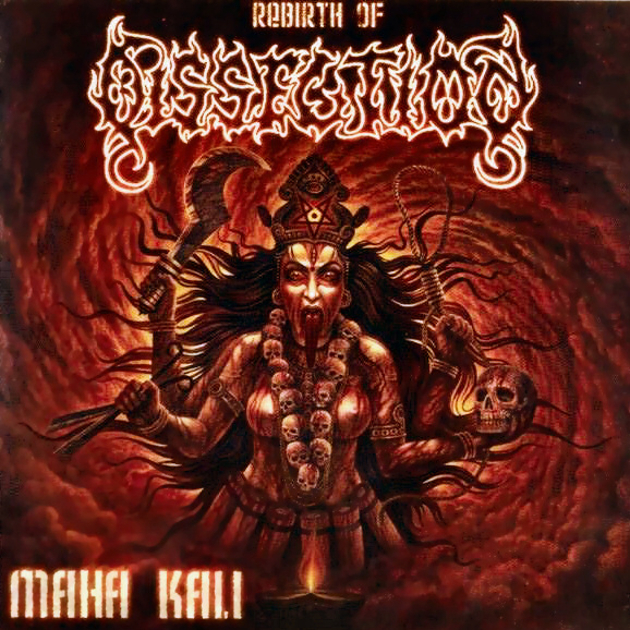 Dissection - Maha Kali (Single) - Cover