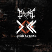 Mayhem - Ordo Ad Chao - CD-Cover