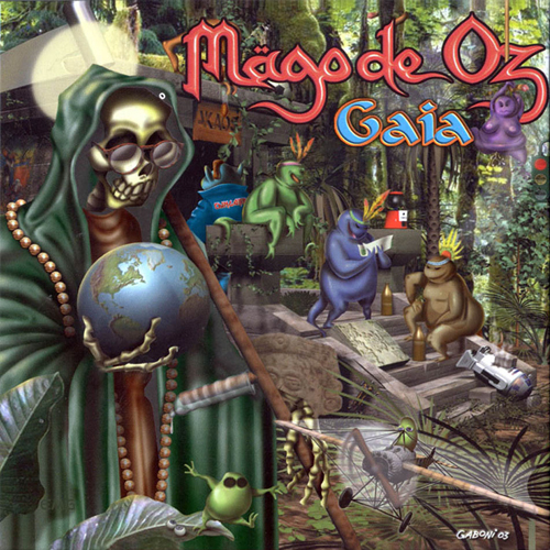 Mägo de Oz - Gaia - Cover