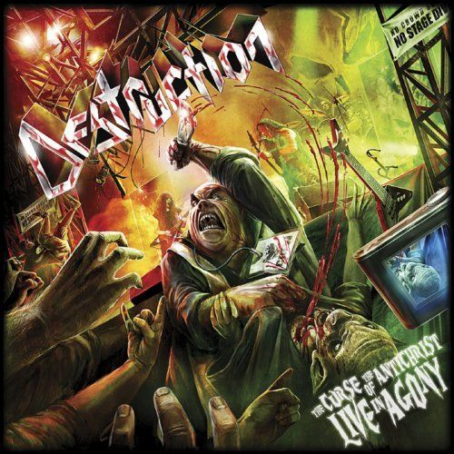 Destruction - The Curse Of The Antichrist - Live In Agony (Live) - Cover