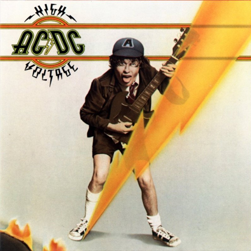 AC/DC - High Voltage - Cover