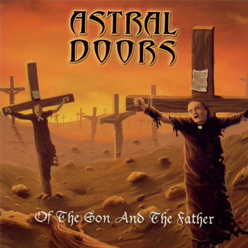 Astral Doors - Of The Son And The Father - Cover