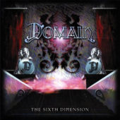 Domain - The Sixth Dimension - CD-Cover