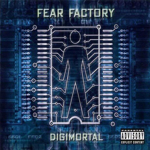 Fear Factory - Digimortal - Cover