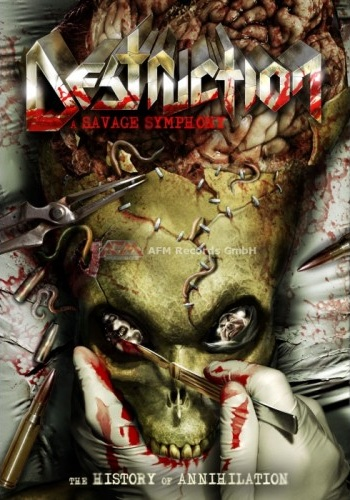 Destruction - A Savage Symphony – The History Of Annihilation (DVD) - Cover