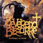 Reverend Bizarre - Harbinger Of Metal - CD-Cover