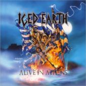 Iced Earth - Alive In Athens - CD-Cover