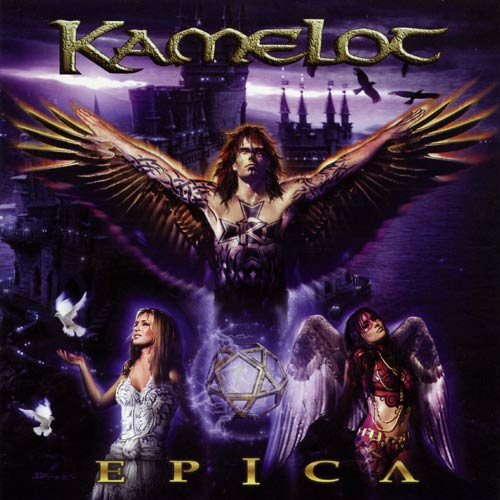 Kamelot - Epica - Cover