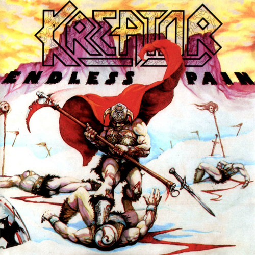 Kreator - Endless Pain - Cover