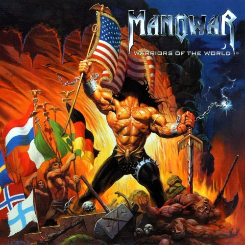 Manowar - Warriors Of The World - Cover