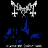 Mayhem - De Mysteriis Dom Sathanas - CD-Cover