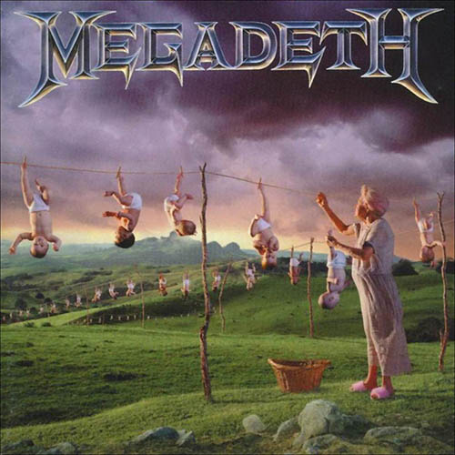 Megadeth - Youthanasia - Cover