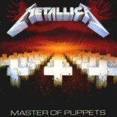 Metallica - Master Of Puppets - CD-Cover