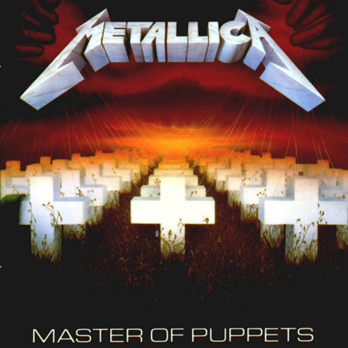 Metallica - Master Of Puppets - Cover