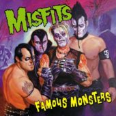 Misfits - Famous Monsters - CD-Cover