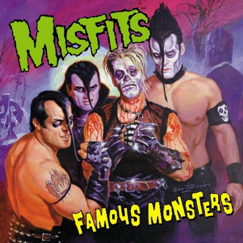 Misfits - Famous Monsters - Cover