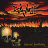 Ravage - Infernal Devastation - CD-Cover