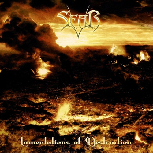 Sear - Lamentations Of Destruction - Cover