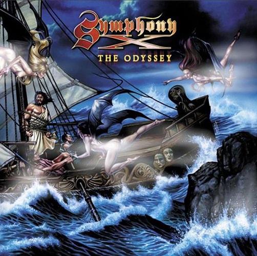 Symphony X - The Odyssey - Cover
