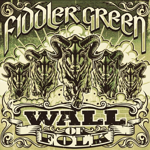 Fiddler´s Green - Wall Of Folk - Cover