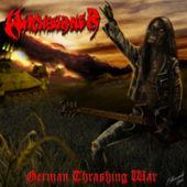 Witchburner - German Thrashing War - CD-Cover